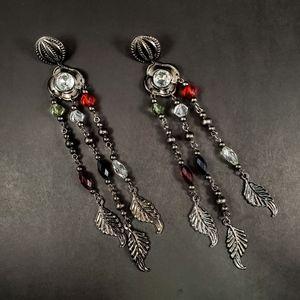 BOHEMIAN Southwest Vintage Long Dangly Earrings
